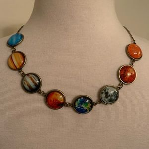 PLANETS necklace